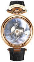 Bovet Amadeo Fleurier Fired Enamel Miniature Painting by Ilgiz F. AF43593