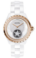 Chanel J12 White Flying Tourbillon Watch H4563