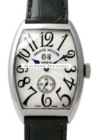 Franck Muller Mens Medium Cintree Curvex Large Date 6850 S6 GG-4