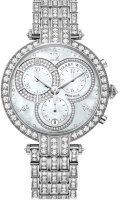 Harry Winston Premier Chronograph 40 mm in white gold PRNQCH40WW003