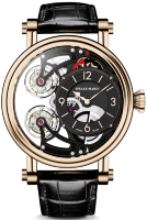 Speake-Marin Haute Horlogerie Magister Vertical Double Tourbillon Openworked dial