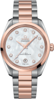 Seamaster Aqua Terra 150m Omega Co-axial Master Chronometer Ladies 38 mm 220.20.38.20.55.001