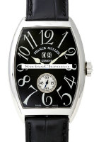 Franck Muller Mens Medium Cintree Curvex Large Date 6850 S6 GG-5