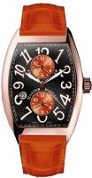 Franck Muller Mens Collection Cintree Curvex Master Banker Asia Exclusive 7880 MB SC DT II OR
