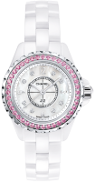 Chanel J12 White 29 mm Pink Sapphires H3243