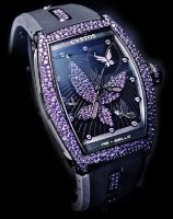 Cvstos Hour Minute Seconde Re-Belle Papillon Purple Saphhires