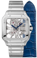 Santos De Cartier Skeleton Watch WHSA0007