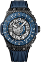 Hublot One Big Bang Unico Gmt Carbon Blue Ceramic 45 mm 471.QL.7127.RX
