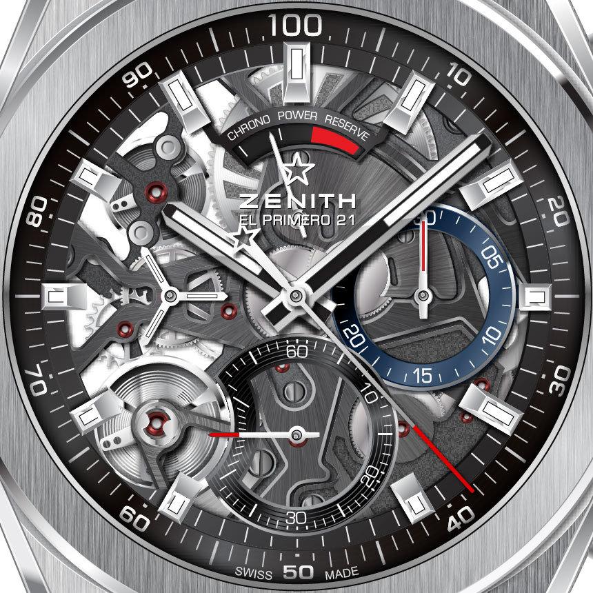 a73bfd7279e3 Часы Zenith Defy El Primero 21 95.9000.9004 78.R582 — купить в ...