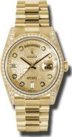 Rolex Day-Date President Yellow Gold Ladies 118388 CHJDP