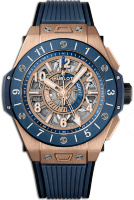 Hublot One Big Bang Unico Gmt King Gold Blue Ceramic 44 mm 471.OL.7128.RX