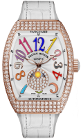 Franck Muller Vanguard Lady Moonphase V 32 SC AT FO L D CD 1P COL DRM (BC)